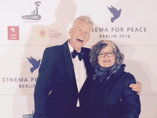 Richard Gonlag mit Ilse Biberti, Berlinale 2016