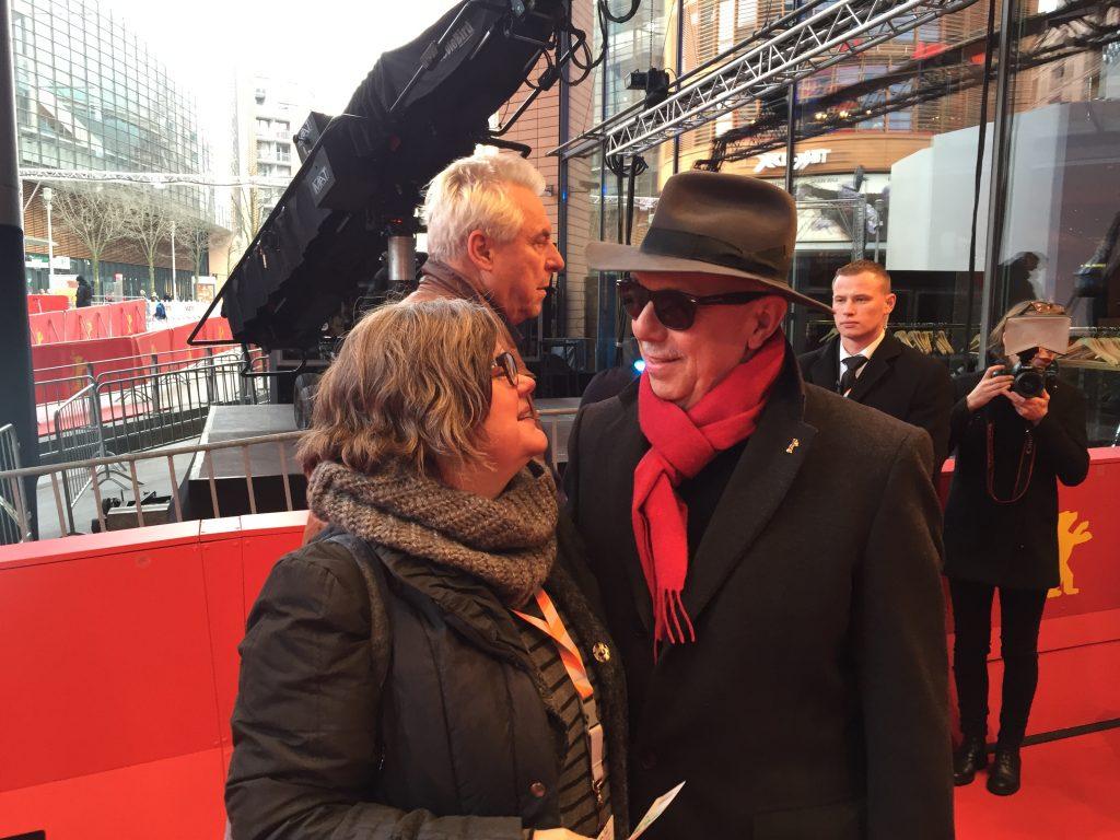 Dieter Kosslik mit Ilse Biberti, Berlinale 2016