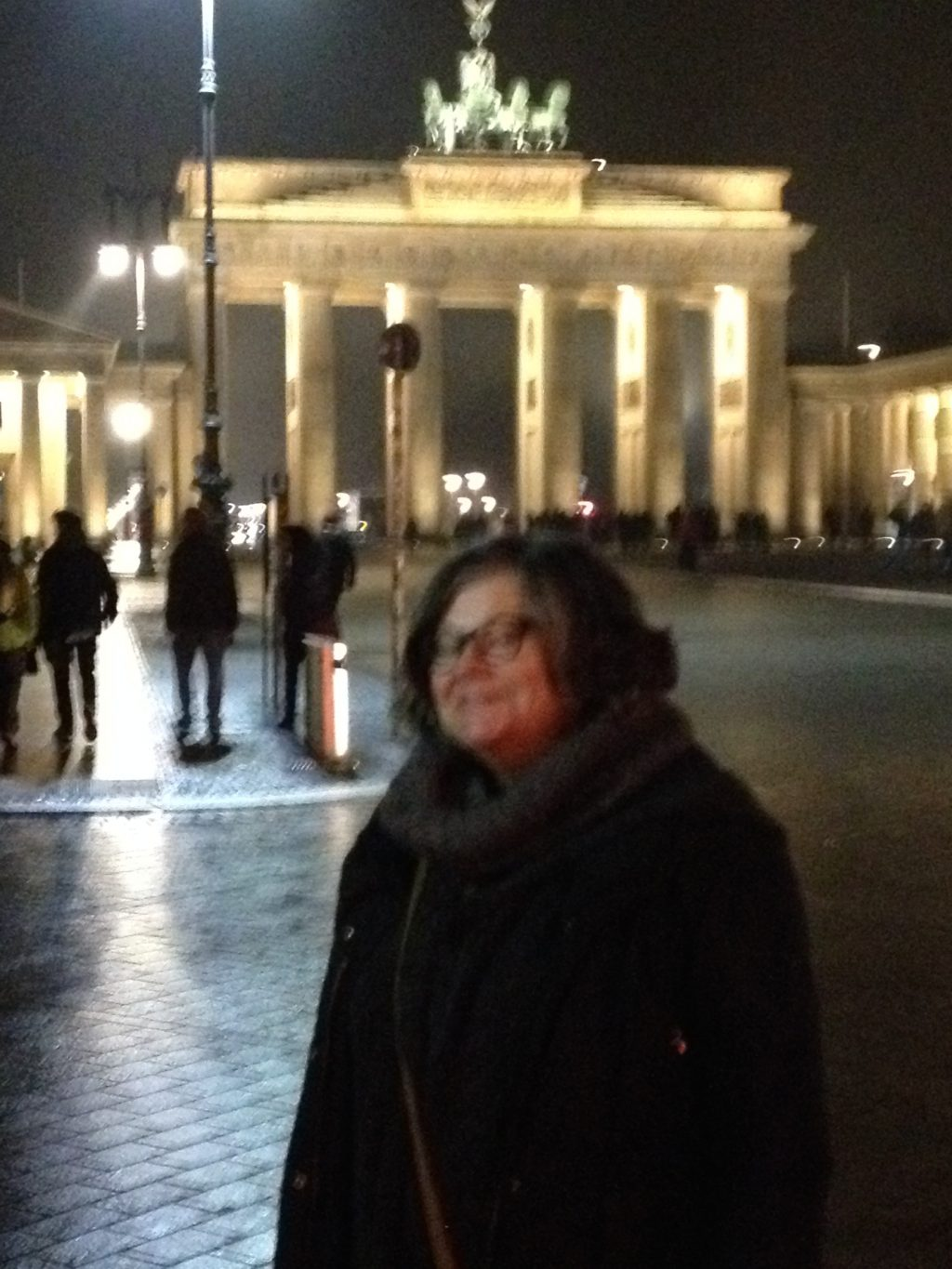Ilse Biberti am Brandenburger Tor, Berlinale 2016