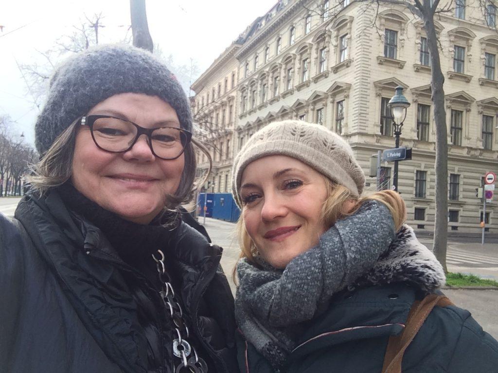 Katharine Mehrling ZUFÄLLIG getroffen...