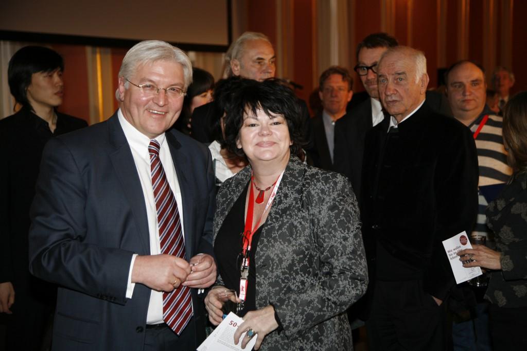 Ilse und Frank-Walter Steinmeier