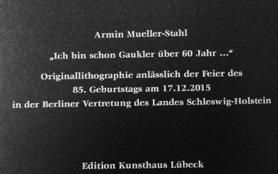 Zum 85. Geburtstag von Armin Mueller-Stahl
