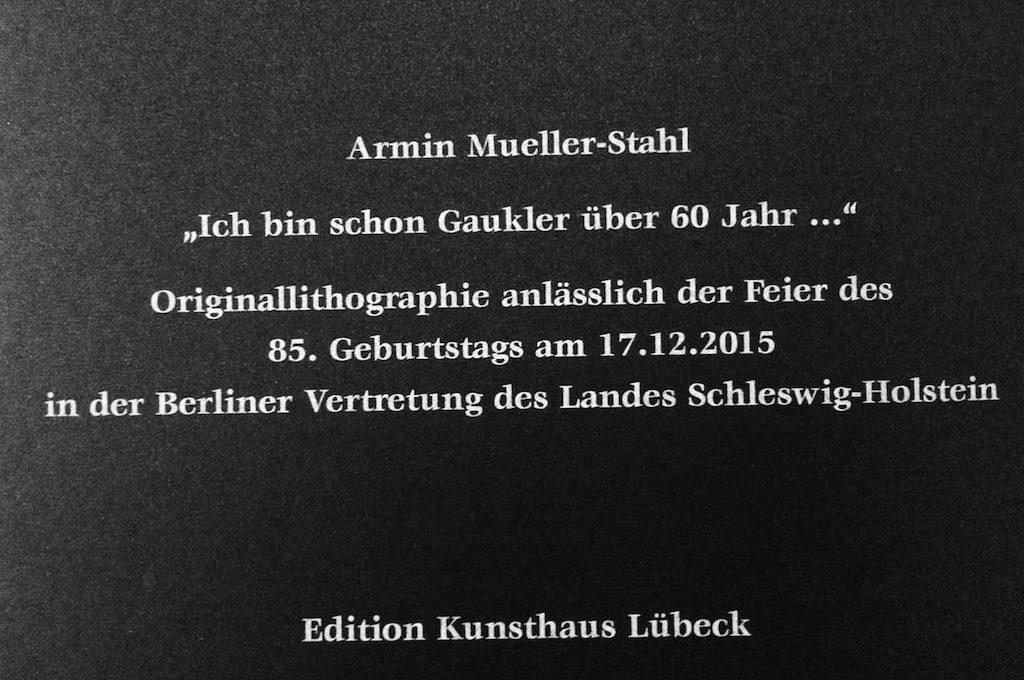 Armin Mueller Stahl Titel